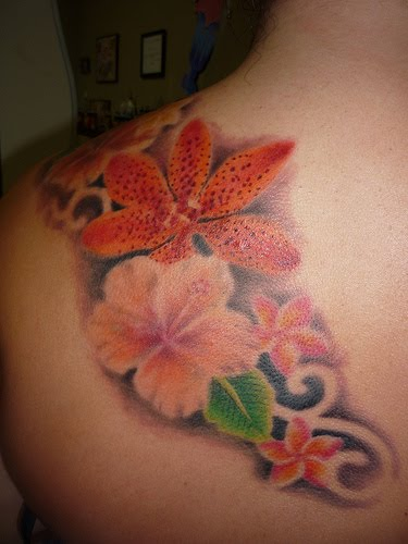 Flower Tattoos are extremely popular today with girls and women.