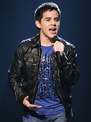 This is David Archuleta, the ever-grinning runner-up from American Idol's ...