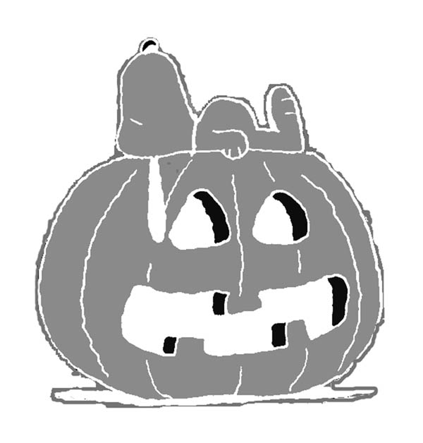 pattern snoopy Free Snoopy Pumpkin Carving Patterns