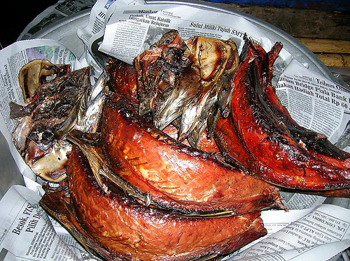 Ikan Cakalang Asap Souvenir Cantik