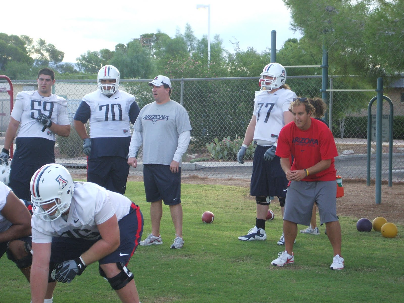 ARIZONA WILD... Quarterback Individual Drills