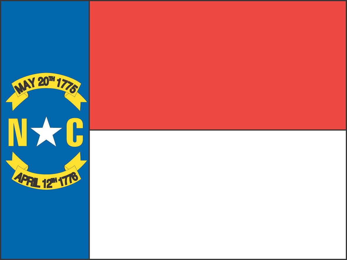 Flag of North Carolina | State Symbols USA