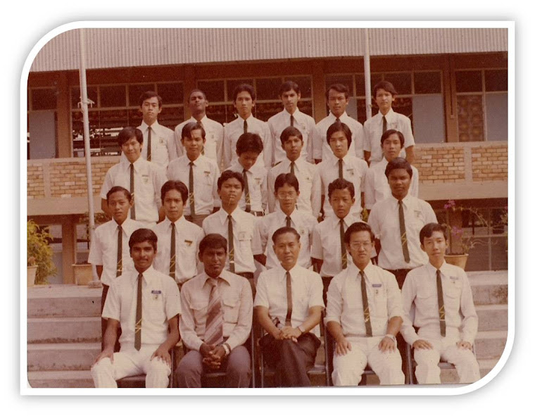 Pengawas Lelaki SMDHHY, Renggam, Johor . 1977