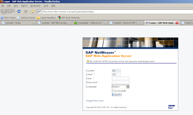 Sap Abap Technical Free Online Sap Ecc 6 0 Access All