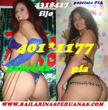 BAILARINAS DE PISO RECARGADO GABY Y PIA