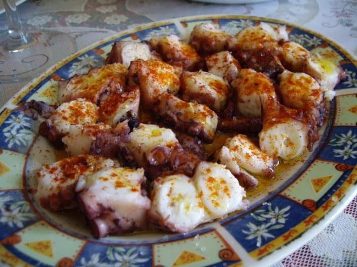 Mis recetas de cocina pulpo a feira for Pulpo en olla rapida