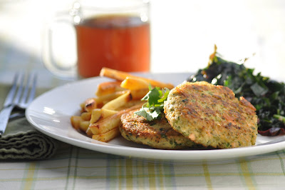 how to make salmon burgers from canned salmon