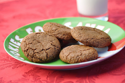 Nourishing Meals: Soft Molasses Cookies (Vegan & Gluten-Free)