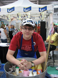 Cory at the GG booth last year