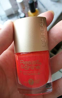 l'oreal resist shine smalto