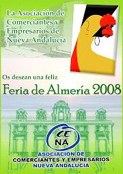 CARTEL FERIA 2008 DE ASOCIACION DE COMERCIANTES
