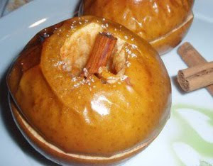 Manzanas glaseadas