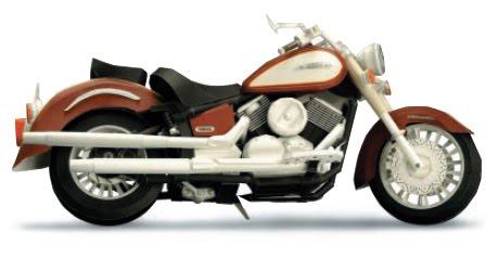 RECORTABLES DE MOTOS PAPER CRAFTS MOTO