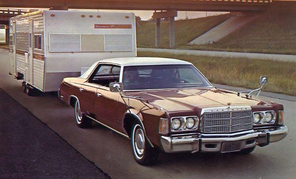 Chrysler Headlights Tailfins Fins Clic Car Bygone