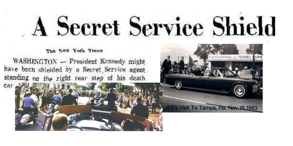 A Secret Service shield NOT used on 11/22/63