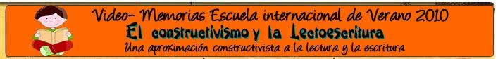 EL CONSTRUCTIVISMO Y LA LECTOESCRITURA