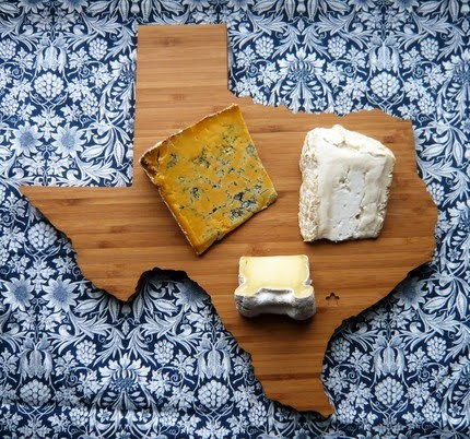 Just in case I move... Texas-shaped-cheese-board-wooden