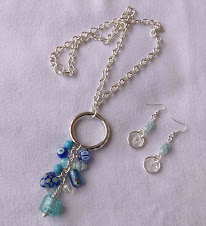 Collar Cod 2447 Cristales turquesas S/ 35.00 Nuevos Soles