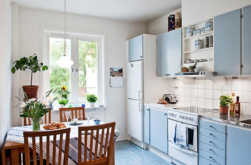 decoracao cozinha pequena simples: blog de decoração descomplicada e bem viver: COR E ESTILO NA COZINHA