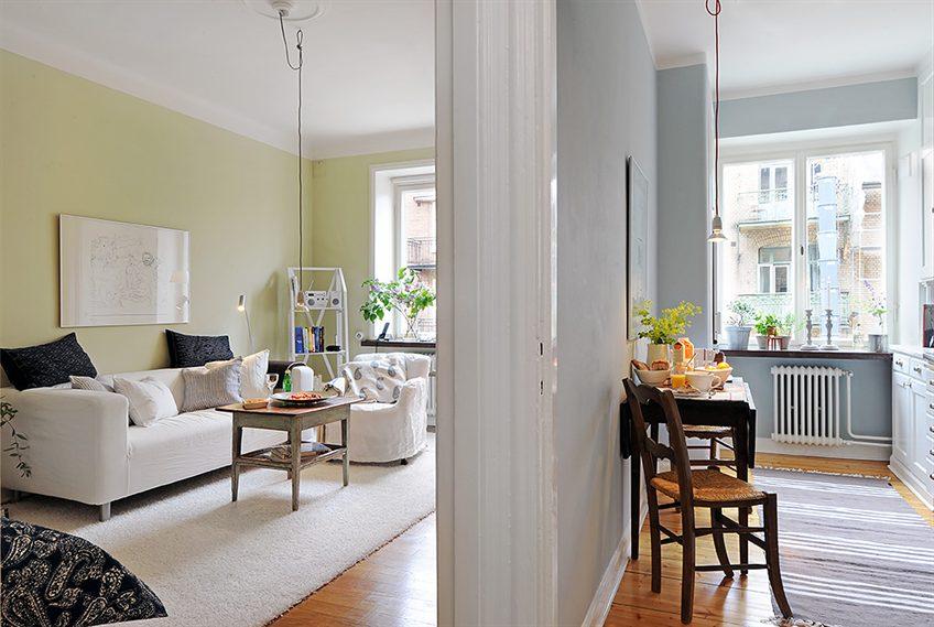 Achados de decoracao apartamento de solteiro a um sonho for Pisos de 40 metros decoracion