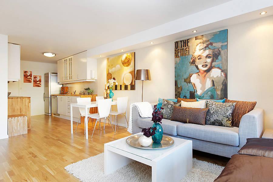 decoracao de ambientes pequenos sala e cozinha:Sala Decoracao
