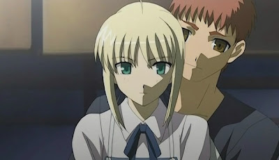 Saber Fate on Astronerdboy S Anime   Manga Blog  Fate Stay Night    Final Thoughts
