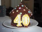 A Giant Cupcake