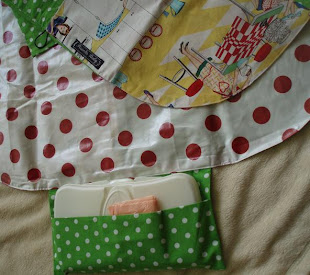 change mat & nappy wallet all-in-one