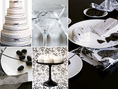 Black and White weddings for that touch of je ne sais quoi