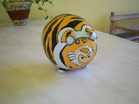 Cofre porquinho tigre