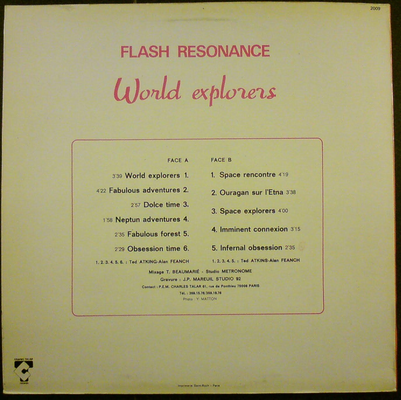 Alan Feanch A. Feanch Flash Resonance: Space Dream