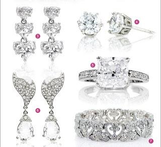 Diamond Jewelry Or CZ Jewelry