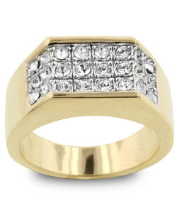 men's cz ring