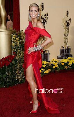 Heidi Klum Oscar 2009