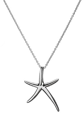 Sterling silver starfish jewelry