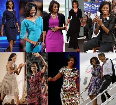 Michelle obama's fashion jewelry style