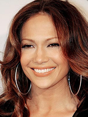 flowing hair style. Jennifer Lopez pictures