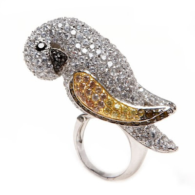 Macaw Cocktail Rings