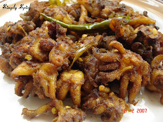 Cuttlefish Pepper Fry