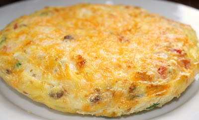 Recipe for Sausage and Cheese Frittata | Two Peas & Their Pod