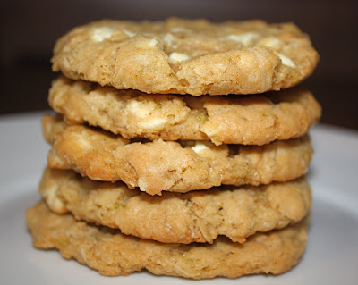 Oatmeal Cookies with Lime, Coconut, and White Chocolate | Two Peas ...