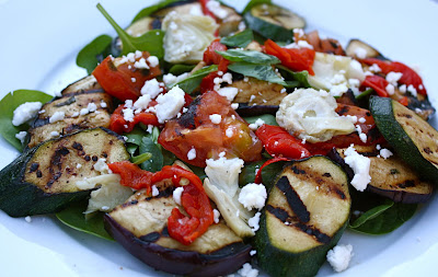 Grilled Vegetable Salad | Two Peas & Their Pod