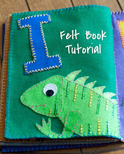 Felt Name Book Tutorial