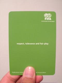 Tarjeta Verde de la Fifa