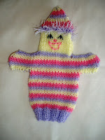Musings of the Puppet Lady: Clown puppet knitting pattern