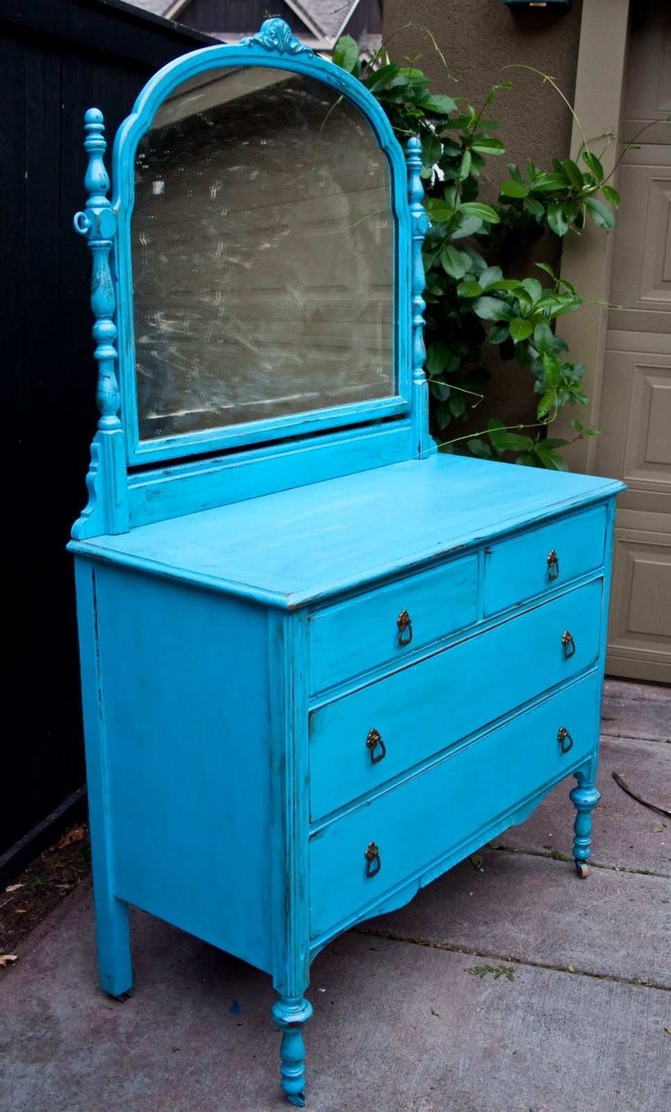 top 28 blue shabby chic furniture hall side table in annie sloan provence blue finished. Black Bedroom Furniture Sets. Home Design Ideas