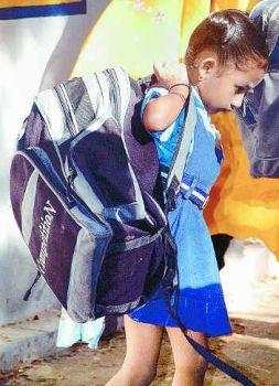 Children are our future... But...: HEAVY SCHOOL BAGS ,IS ...