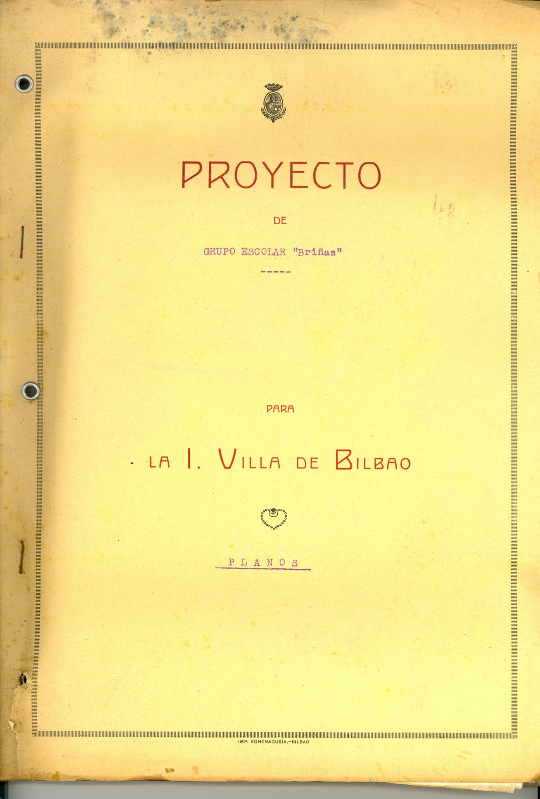 75 Aniversario Del Grupo Escolar Luis Bri As Proyecto Del