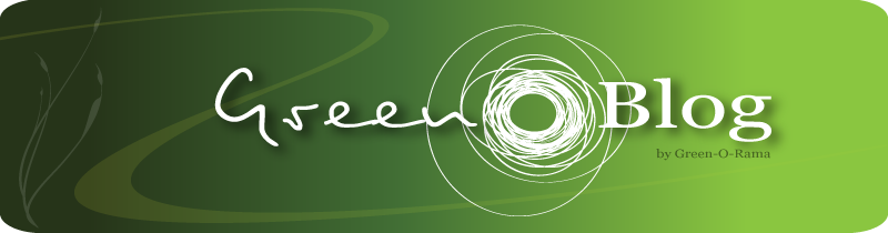 green-o-blog, Le blog de green-o-rama sur l'éco-design, le developpement durable, l'écologie