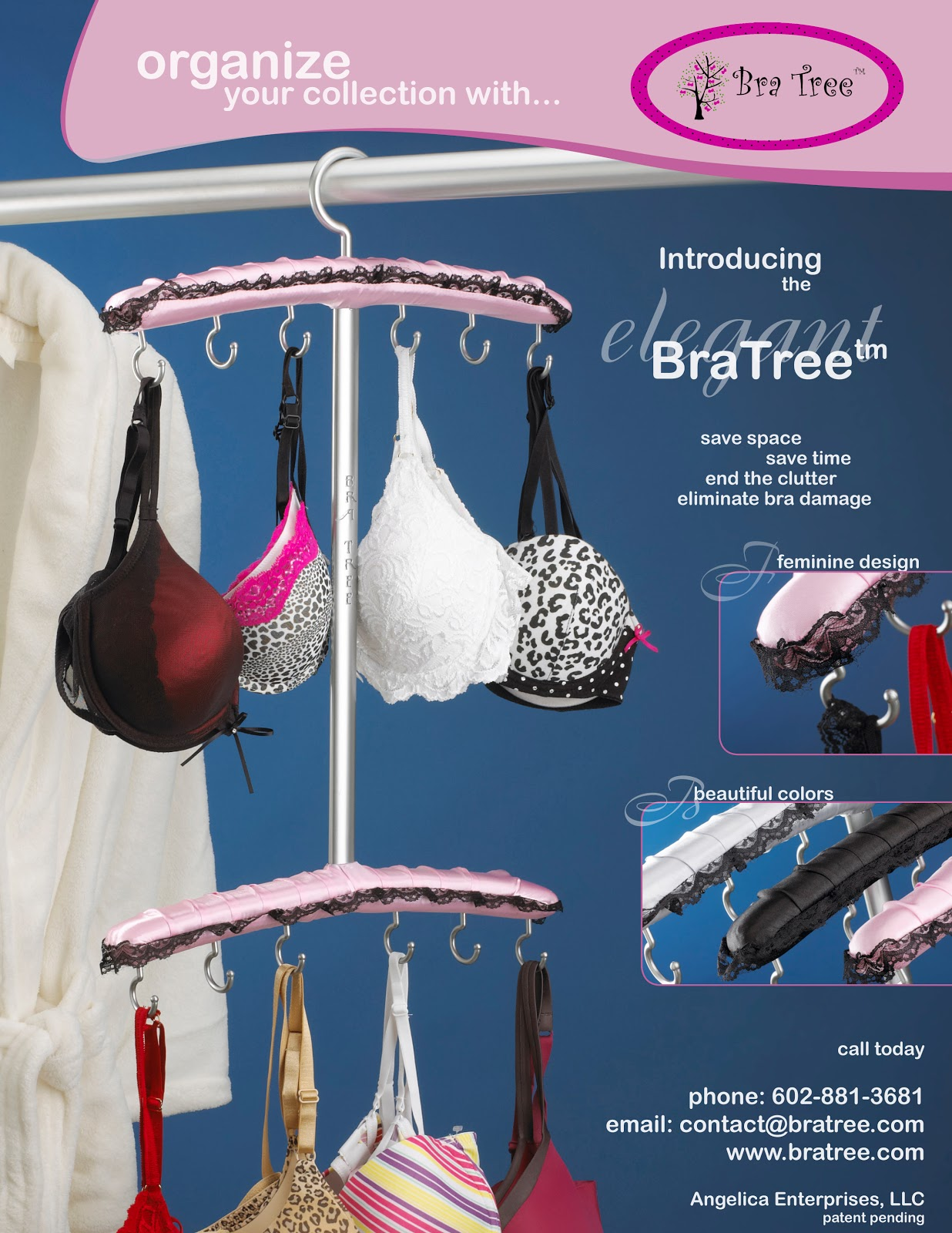 Start Hanging And Organize Your Bras Today!